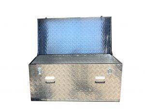 Caja metalica, caja de herramientas grandes