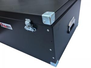 Caja de aluminio para tecnologia con proteccion interior