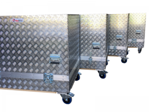 cajas de aluninio para transporte 2018 con ruedas