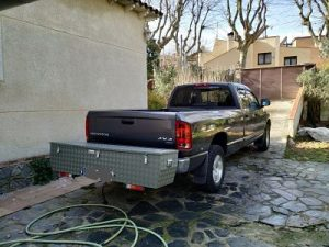 Caja de aluminio para pickup